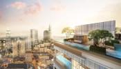 Hình ảnh tiến độ thi công mới nhất dự án The Marq Quận 1