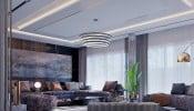 Thiết kế nội thất sang trọng trong biệt thự 200m2