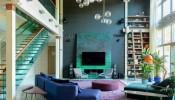 Ngôi nhà đẹp như bức tranh với những gam màu tươi vui