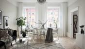 Sử dụng sắc trắng chủ đạo, căn hộ 62m2 vẫn đẹp hút mắt
