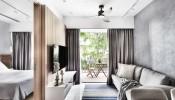 Thiết kế nội thất Scandinavian tinh tế trong căn hộ 36m2