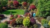 Trầm trồ trước khu vườn bốn mùa của cặp vợ chồng người Anh