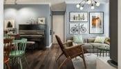 Gia đình trẻ sở hữu căn hộ 80m2 đẹp tinh tế