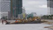 Nạo vét, cắt xén 48.600 m2 đất tại khu lấn biển ở Quy Nhơn