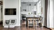 Bài trí nội thất tối giản, căn hộ 53m2 vẫn đẹp hút hồn