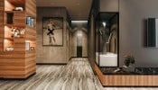 Gia chủ tự thiết kế nội thất ấn tượng cho căn hộ 80m2