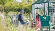 Khu vườn thiên đường của cặp vợ chồng trẻ yêu thiên nhiên