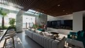 Kiến trúc sang trọng trong penthouse làm bằng đá cẩm thạch