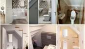 Kinh nghiệm hóa giải phong thủy nhà vệ sinh dưới cầu thang