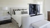 Tổng hợp những mẫu phòng ngủ đẹp với 2 màu đen và trắng