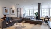 Học cách thiết kế căn hộ nhỏ 39m2 gọn đẹp, tiện nghi của người nước ngoài