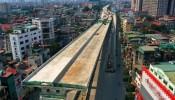 Dự án đường trên cao được chờ đợi nhất tại Hà Nội sắp hoàn thành