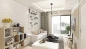 Giá nội thất chung cư 70m2 2 phòng ngủ hiện đại