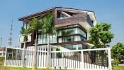 Ngôi biệt thự ở Sài Gòn khác biệt giữa khu dân cư mới