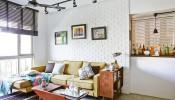 Cách bố trí đồ cổ hợp lý khiến căn hộ vẫn mang vẻ hiện đại