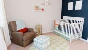 Mẹo trang trí căn phòng dễ thương cho bé gái 7 tháng tuổi