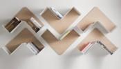 Kệ sách treo tường độc đáo cho nhà đẹp