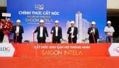 Dự án Khu căn hộ thông minh Saigon Intela chính thức được cất nóc