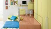 Phòng trẻ em có thêm không gian nhờ thiết kế giật cấp tận dụng diện tích