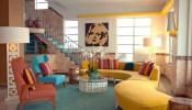 Phong cách thiết kế nội thất Retro – Trào lưu một thời để nhớ
