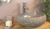 Mẫu lavabo đá tự nhiên cho phòng tắm