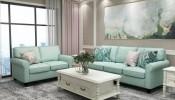 Lựa chọn và bố trí sofa cho phòng khách bất chấp mùa hè nóng nực