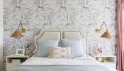 5 mẫu giấy dán tường phòng ngủ đẹp, hiện đại