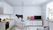 Bố trí nội thất thông minh trong căn hộ 25m2