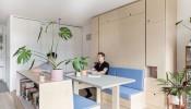 Thiết kế nội thất thông minh trong căn hộ studio