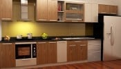 Tổng hợp mẫu tủ bếp nhựa hiện đại cho nhà đẹp