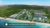 Tiến độ dự án Phu Quoc Marina cập nhật tháng 5, năm 2020.
