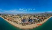 Hình ảnh mới nhất tại công trường xây dựng tổ hợp giải trí nghỉ dưỡng biển SunBay Park Hotel & Resort Phan Rang