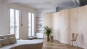 Wood Ribbon Apartment – Căn hộ cải tạo đẹp như mơ của gia đình trẻ 5 người dù ngân sách eo hẹp