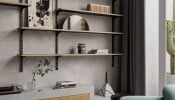 Thiết kế nội thất Wabi-Sabi ấn tượng trong căn hộ hiện đại