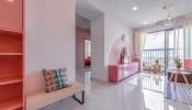 Căn hộ 100m² với sắc hồng ngọt ngào có chi phí hoàn thiện 450 triệu đồng
