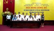 Hà Nội công bố quy hoạch 'siêu đô thị' Hòa Lạc rộng hơn 17.000 ha