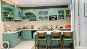 Những căn bếp với không gian xanh mướt, tuyệt đẹp khiến chị em mê mẩn