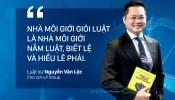"""Luật sư Nguyễn Văn Lộc: """"Nhà môi giới rất cần giỏi luật!"""""""