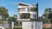 Ngắm nhìn mẫu nhà 3 tầng mặt tiền 6m hiện đại của Mr. Tùng – Hải Phòng