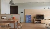 """Ấn tượng với thiết kế căn hộ chung cư chỉ 60m2 nhưng tiện nghi đến """"không tưởng"""""""