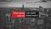Cập nhật thống kê dân số của Việt Nam và các khu vực Đông Nam Á năm 2020