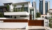 Hilltop House – ngôi nhà đẹp hiện đại với cách phân tách khu vực khách thăm quan và không gian sống ấn tượng
