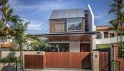 Ngôi nhà ở Singapore sở hữu phần mái hiên siêu rộng cùng không gian sáng thoáng tuyệt vời