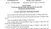 Quy định hệ số điều chỉnh giá đất (K) năm 2020 tại Bình Dương