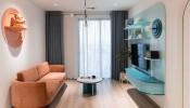Thiết kế nội thất màu kẹo ngọt, hạn chế góc cạnh cho nhà có trẻ nhỏ