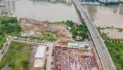 Cận cảnh tiến độ dự án căn hộ hạng sang The River ngay trung tâm Thủ Thiêm tháng 8/2020