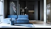Ngây ngất với thiết kế nội thất siêu chất trong căn hộ 46m2