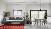 Thiết kế nội thất căn hộ 75m2 cho cặp vợ chồng trẻ làm việc ở nhà
