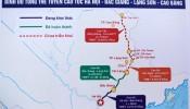 Xây dựng tuyến cao tốc Lạng Sơn - Cao Bằng trị giá 21.000 tỷ đồng