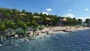 Chính thức khởi công bãi biển riêng dự án Apec Mandala Wyndham Mũi Né